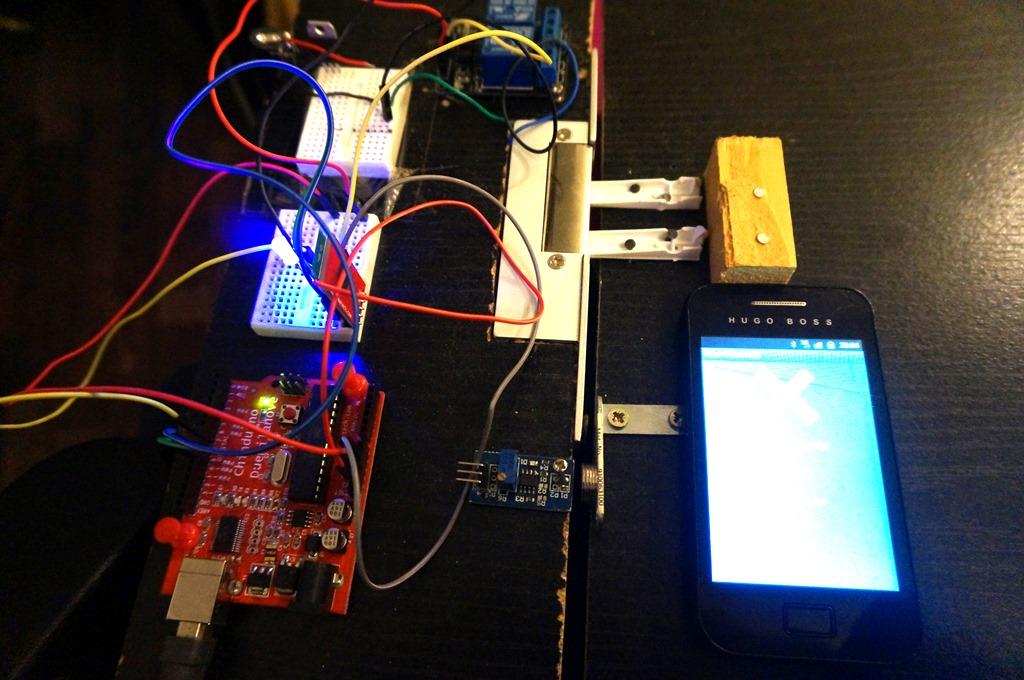 Raspberry pi 22 cr er une porte domotique partie 1 for Radio pour ouvrir porte